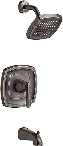 American Standard T018502.278 Edgemere Bath Shower Trim Kit – 2.5 gpm, Legacy Bronze