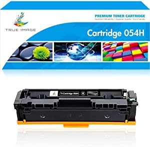 True Image Compatible Toner Cartridge Replacement for Canon 054H 054 CRG054H CRG054 Color ImageCLASS MF644cdw LBP622cdw MF642cdw MF641cdw MF640c LBP622 High Yield Printer Toner (Black, 1-Pack)