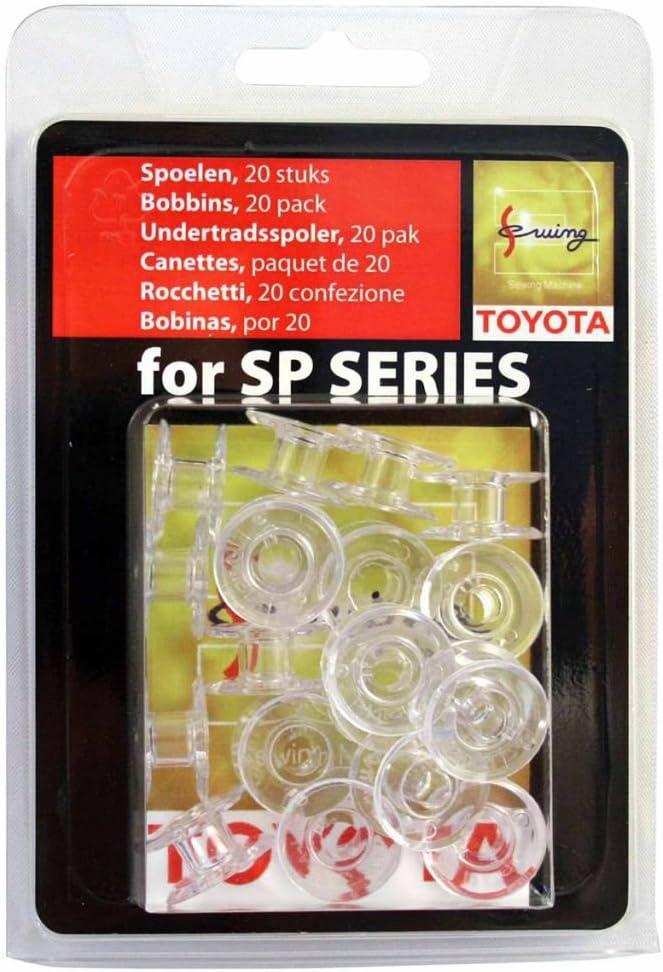 Toyota Bobinas Máquina de coser Bobinas 20 unidades. 1,8 x 1 cm ...