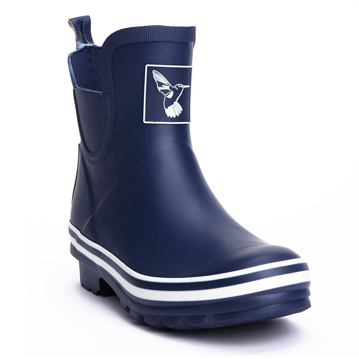 Evercreatures Women's Rain Boot Ankle Boots Meadow Wellies Garden Boot UK Brand B00TLXJ0L2 7 B(M) US / UK5 / EU38 Blue_ Ankle