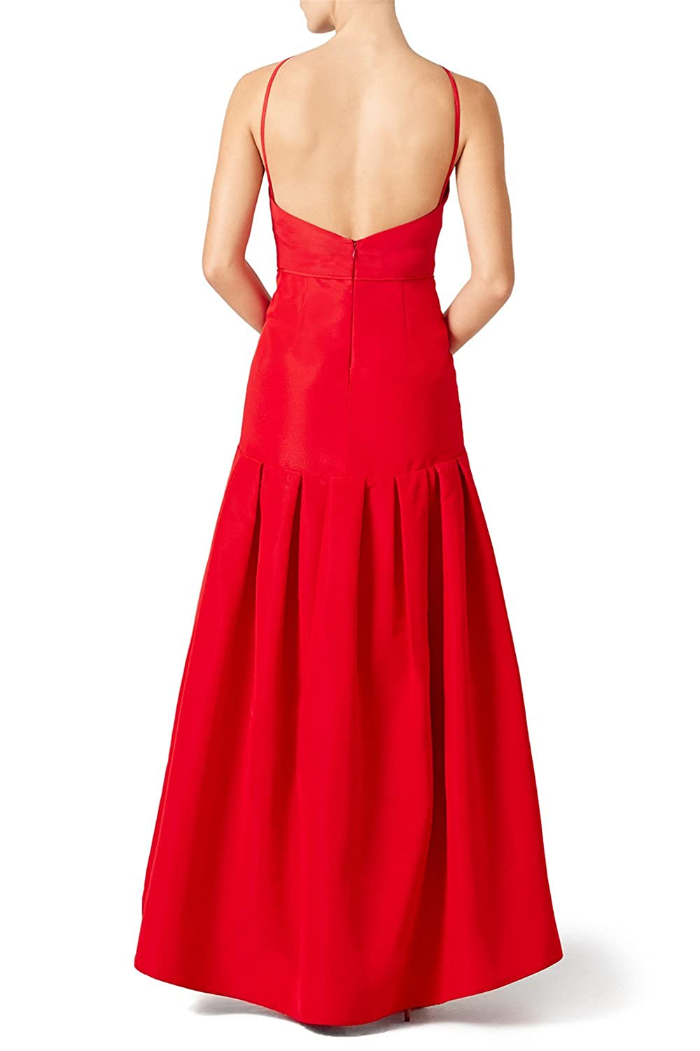 AngelDragon Fashion Halter Hi-lo Formal Prom Dresses Backless Evening Gowns