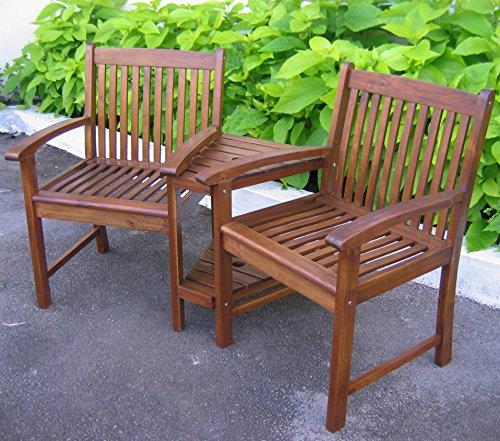 International Caravan Double Corner Patio Chair (Wayfair Patio Umbrella)