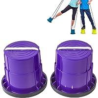 Deeabo Juguetes para Niños con Zancos Copas para Caminar Agilidad Zancos de Juegos Al Aire Libre Entrenadores…