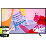 SAMSUNG QN43Q60TAFXZA 43 inch Class Q60T QLED 4K UHD HDR Smart TV 2020 Bundle with 1 Year Extended Protection Plan