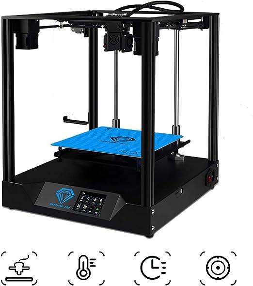 Impresora 3D rápida Asamblea DIY Kit, Extrusoras ABS/PLA/TPU, con ...
