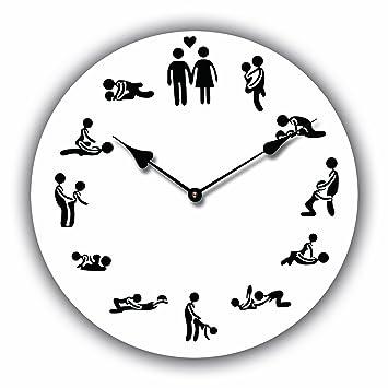 orologio da parete design 24h sex orologio per cucina o salotto tinas collection