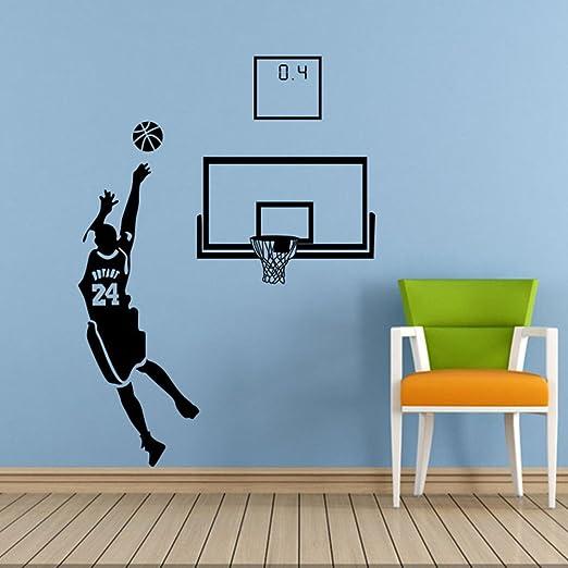 Adhesivos decorativos basketball,Momento objetivo clásico de kobe ...