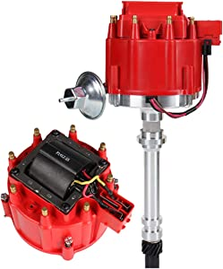 Bang4buck Hei Distributor Fit for Chevy/GM SBC BBC Small Block/Big Block 65k coil 7500RPM