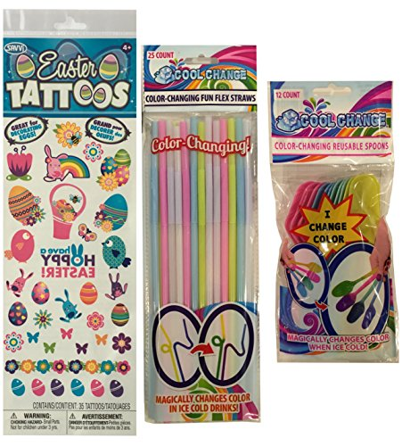 color-changing-funflex-straws-spoons-plus-easter-temporary-tattoos