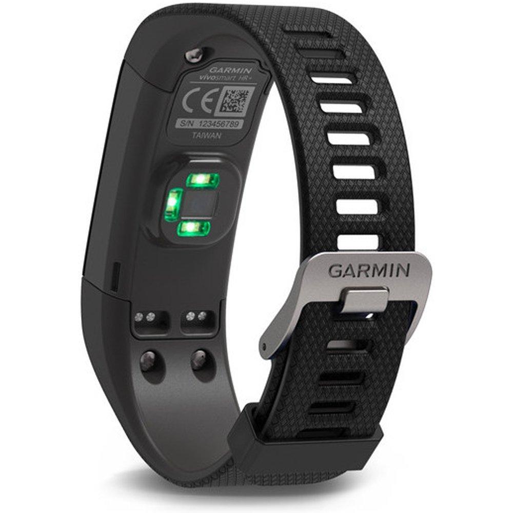 Garmin vivosmart HR+ Activity Tracker Smart Watch with Wrist-Based HRM Plus GPS, XL, Black - (Renewed) by Garmin (Image #3)
