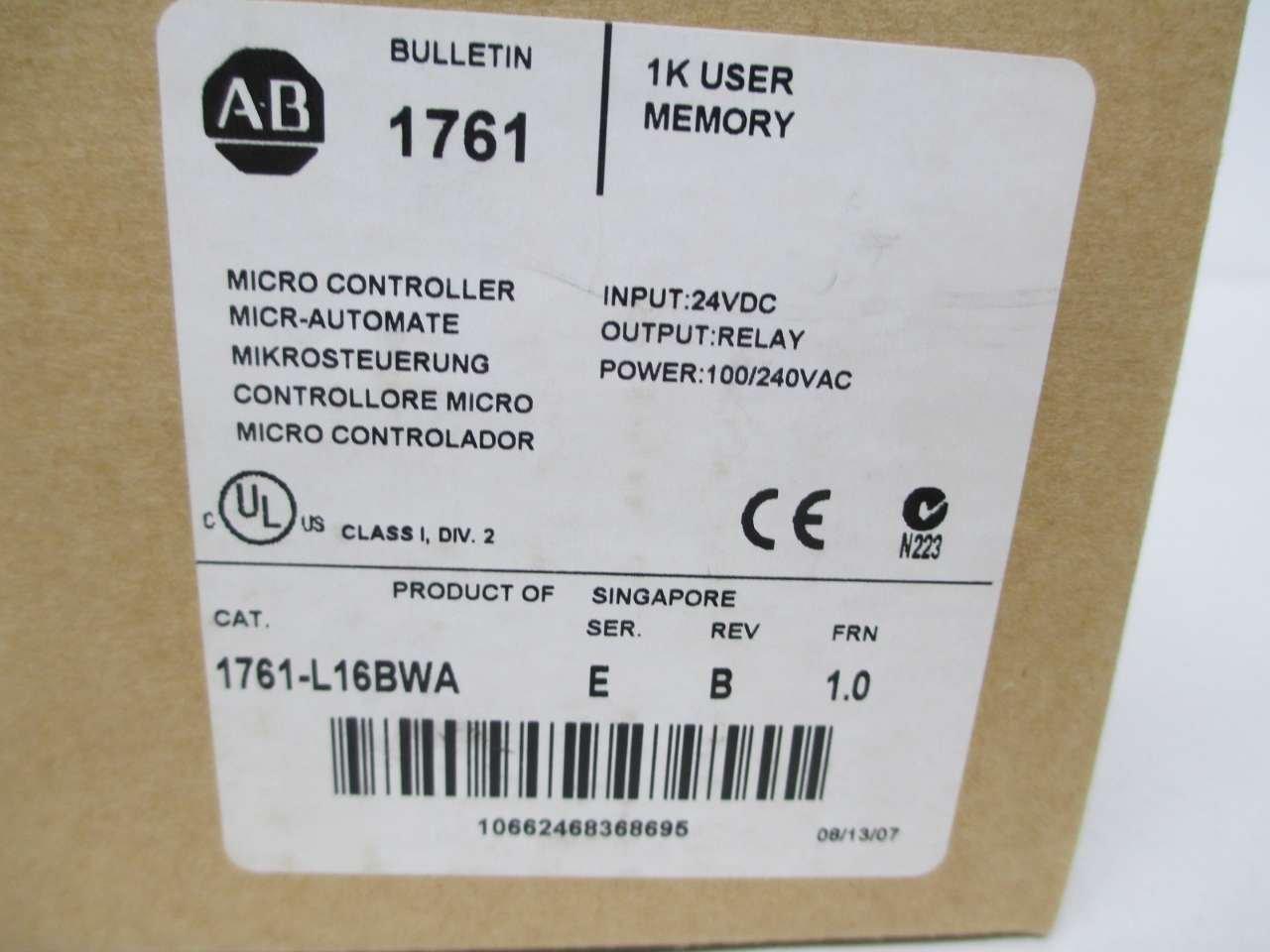Colorful Plc Allen Bradley Micrologix 1000 Pattern - Electrical ...