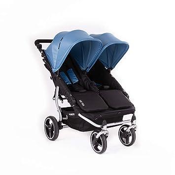 Baby Monsters- Silla Gemelar Easy Twin 3.0.S (Silver) - Color Atlantic + REGALO de un bolso de polipiel (capota normal) Danielstore: Amazon.es: Bebé