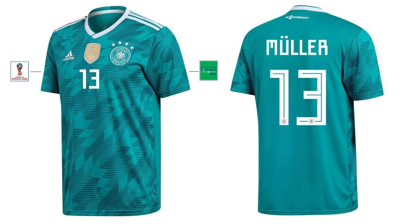 DFB Trikot Kinder WM 2018 Away - Müller 13