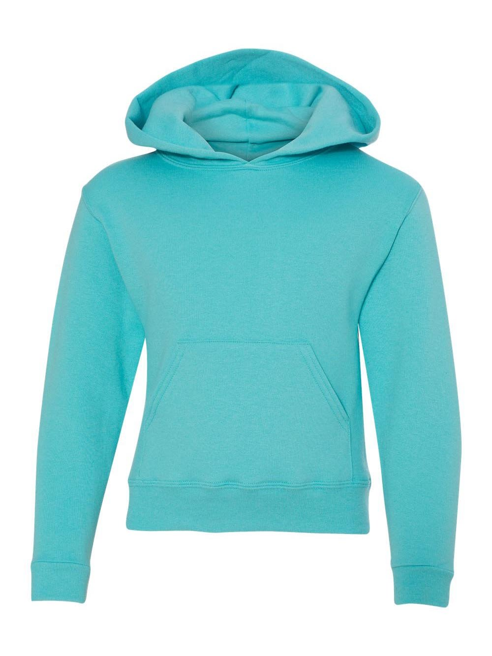 Jerzees 996Y Youth NuBlend Hooded Pullover Sweatshirt - Scuba Blue44; Large