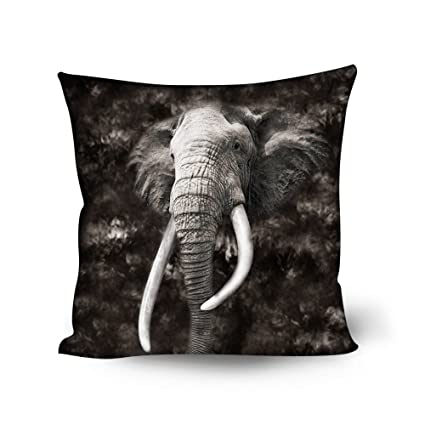 Groovy Beauty Collector Elephant Print Lounge Sofa Throw Pillow Case Living Room Patio Soft Personalized Accent Style Couch Cushion Cover Lumbar Back Pillow Forskolin Free Trial Chair Design Images Forskolin Free Trialorg