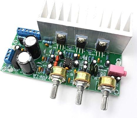 TDA2030A HI-FI 2.0 Dual Channel 18W*2 Amplifier Board Compatible LM1875 DIY Kits