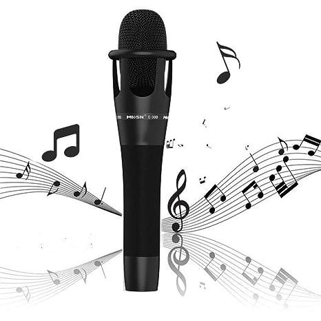 ZLC Mini micrófono, micrófono de Condensador de Mano Ancla k ...