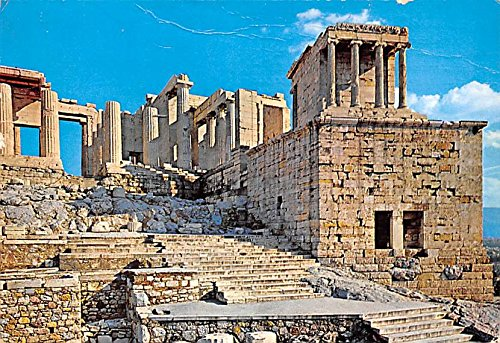 The Propylaea of the Acropolis Athens Greece, Grece Postcard