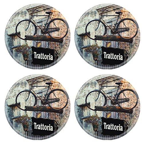 MSD Round Coasters Non-Slip Natural Rubber Desk Coasters design 27233651 Advertising banners in Italian (Tavern Coasters)