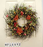 Mixed Flower Everyday Wreath