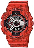 Casio G-Shock Black Dial Red Resin Quartz Male Watch GA110SL-4ACR