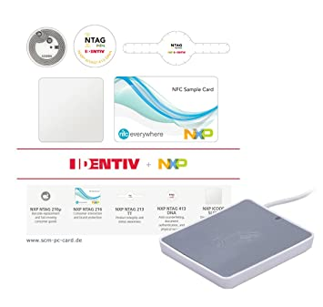 Identiv NFC Tag Starter Kit Plus tarjeta lector sin contacto ...