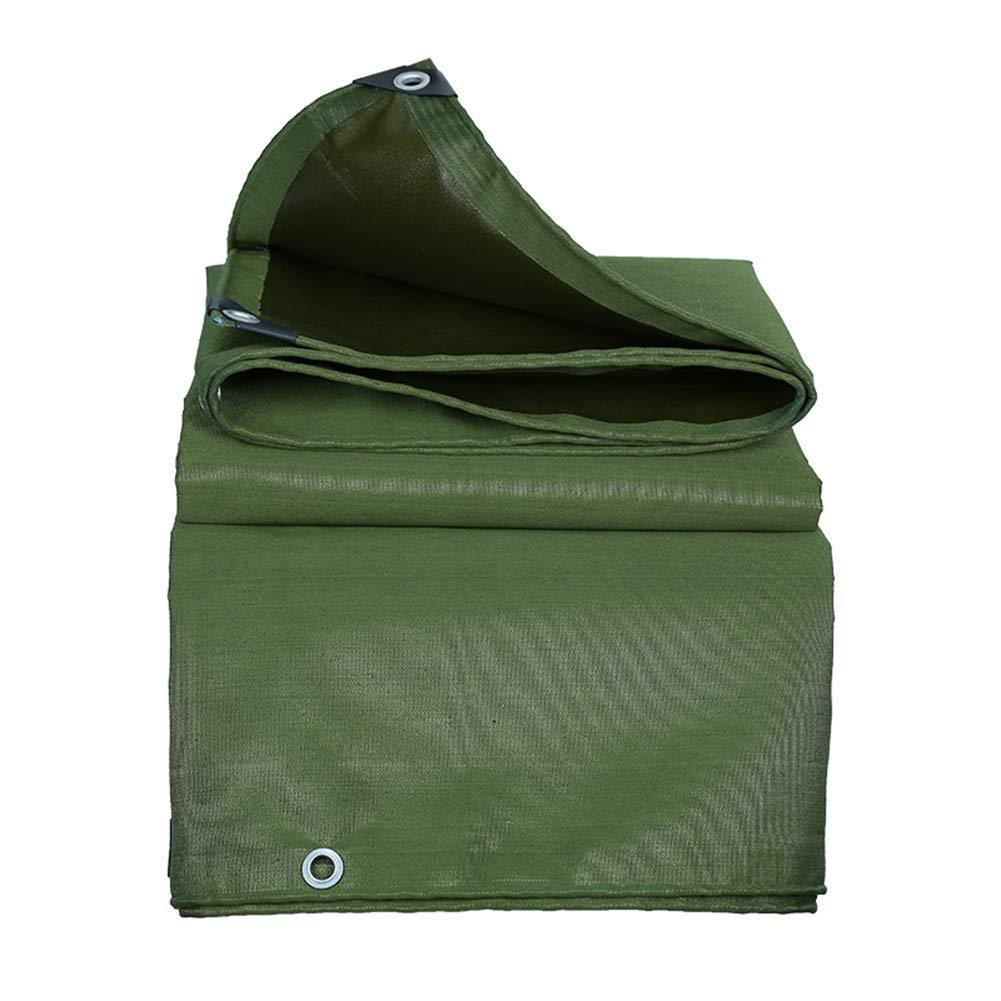 2m×3m BÂches imperméables Robustes, bÂche épaissie Polyvalente de 0,65 mm, bÂche d'extérieur avec œillets, Vert (Taille   2m×2m)