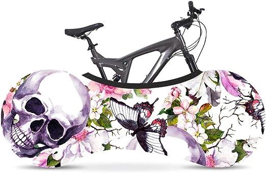BINGFENG Funda Bici para Interiores Funda para Bicicleta Exterior Cubierta Interior De Bicicleta, La Mejor Solución para Mantener Su Interior Limpio para Bicicletas De Adultos A: Amazon.es: Hogar