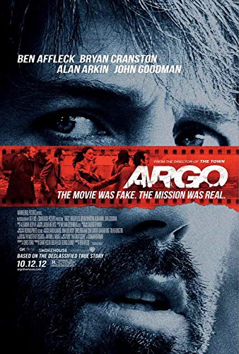 Argo (2012) 27 x 40 Movie Poster Ben Affleck, Bryan Cranston Style A