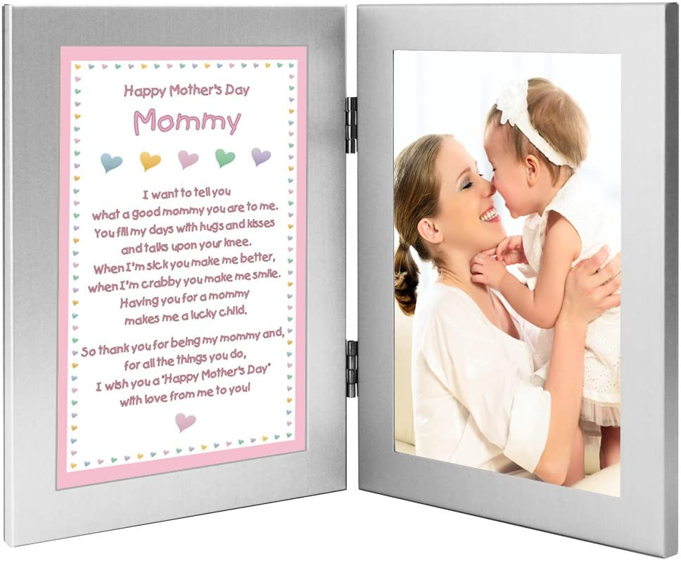Poetry Gifts Mothers Day with Love from Me to You from Daughter Baby or Girl Add Photo