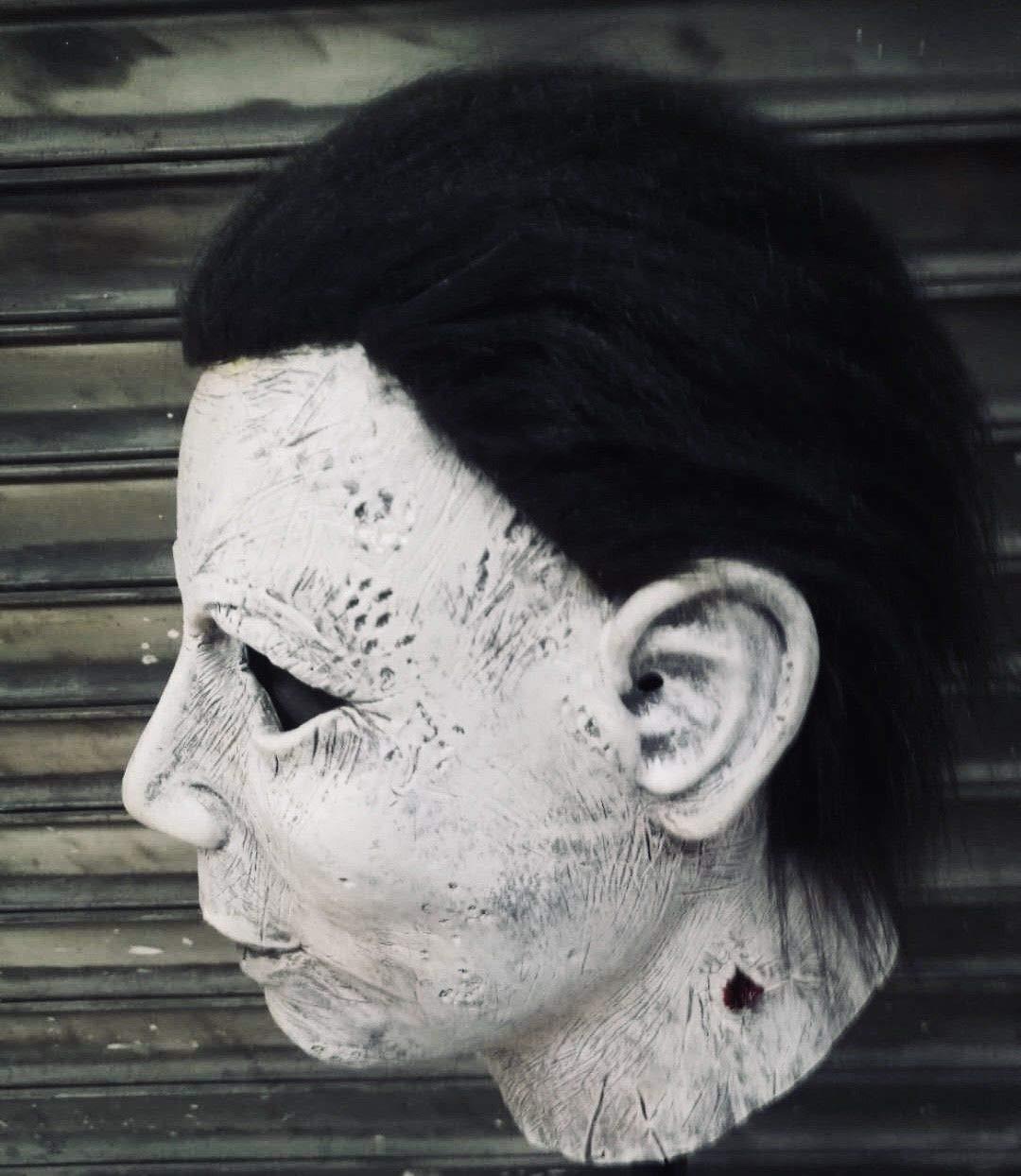 Máscara de Michael Myers, Rohnnies Johnnies , Adulto, Talla única, Halloween, Accesorio: Amazon.es: Juguetes y juegos