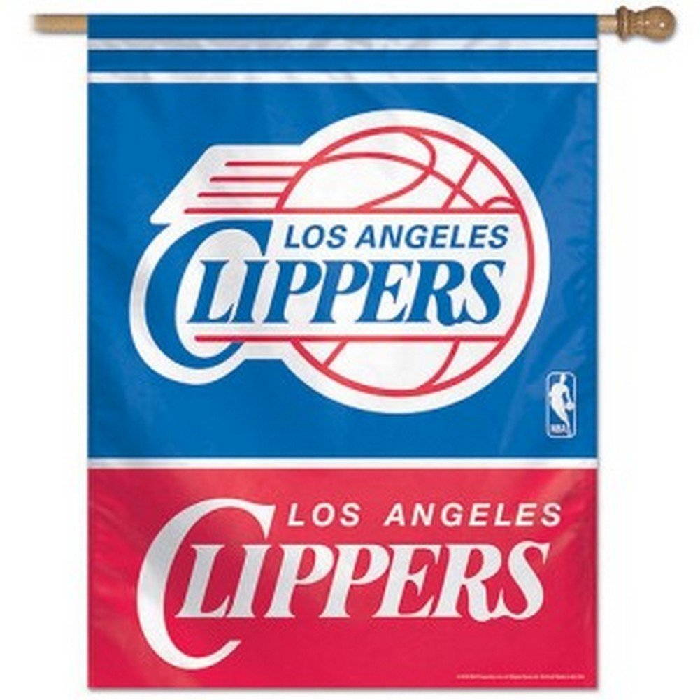 Wincraft NBA Los Angeles Clippers Vertical Flag, 27-Inchx37-Inch 15106815