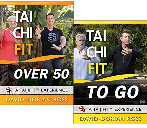 Bundle: Tai Chi Fit OVER 50 & TO GO with David-Dorian Ross / Beginner DVDs for Balance and Stability by YMAA