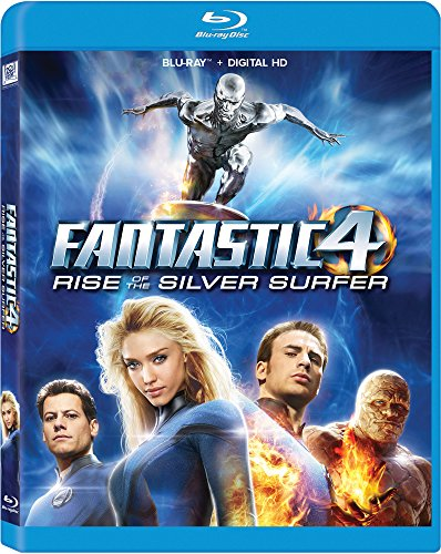 Fantastic Four 2: Rise Of The Silver Surfer Blu-ray