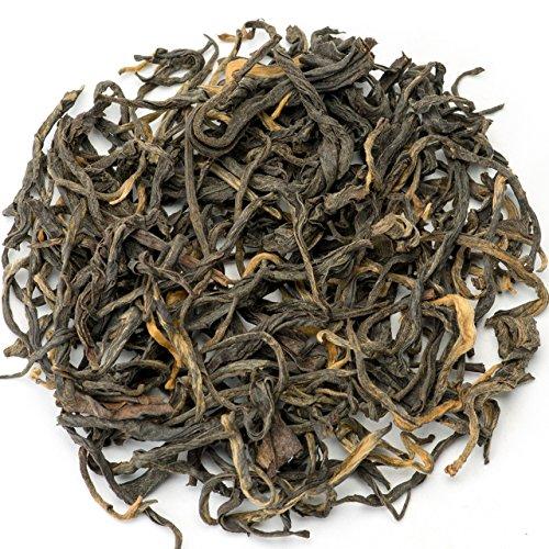 Teavivre Yunnan Dian Hong Ancient Tree Black Tea Loose Leaf Chinese Tea - 3.5oz/100g