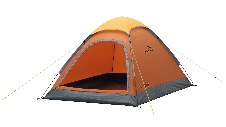 Easy Camp 2人Comet 200テント、オレンジ/ゴールド、120185   B0176I0UVW