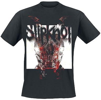 Slipknot All Out Life T-Shirt Black: Amazon co uk: Clothing