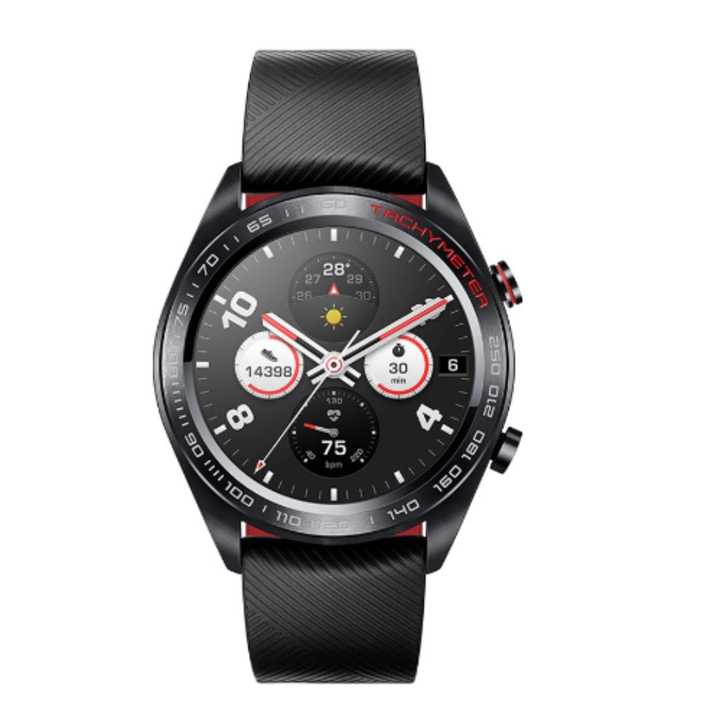 certainPL Huawei Honor Watch Magic Smart Watch, Multiple Sports Modes, Heart Rate AI Monitor, All-Day Pressure Manager, GPS, Alipay/NFC Bus Card Payment, 1.2'' AMOLED Colorful Touch Screen (Black) by certainPL (Image #2)