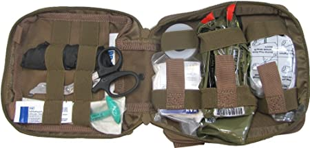 First Aid Kit By Renegade Survival for Camping and Hiking or Home and Workplace. It Is a Ifak Level 1 Drop Leg First Aid Kit for the Prepper Who Wants Tactical Gear for Trauma or to Use Case Case of a Natural Disaster or Outdoor Survival. Renegade Survival Wants You to Survive and Thrive.