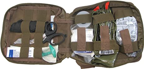 first aid kit by renegade survival for camping and hiking or home and workplace it