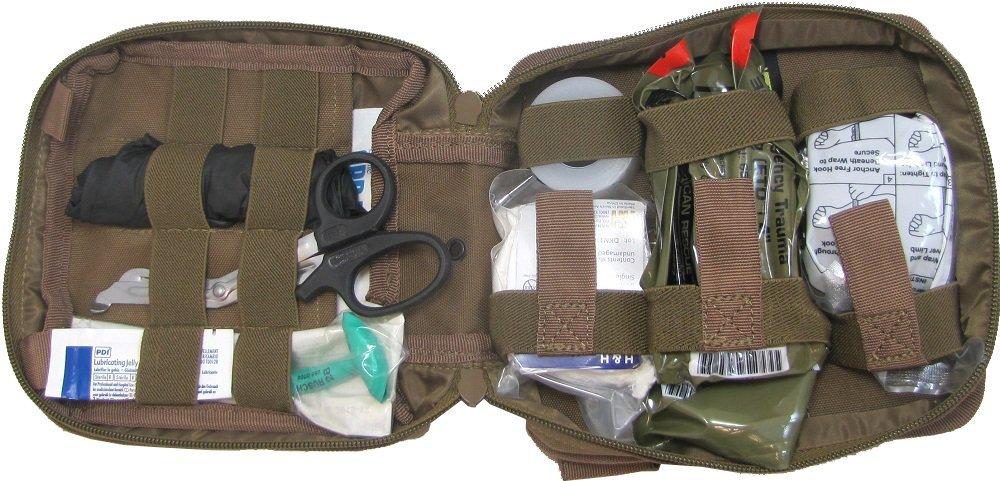 Enhanced IFAK Kit Level 1 First Aid Bag (Black)