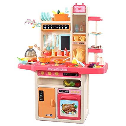 Amazon.com: Ariestorm Simulates Kitchen Sets Toys,The Steam ...