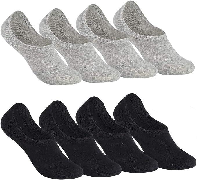12 Paar Damen Sneaker Socken schwarz mit Elasthan WOW