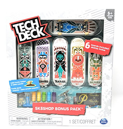 Tech Deck Sk8shop Bonus Pack Primitive Skateboarding with 6 Fingerboards by Tech Deck (Image #2)