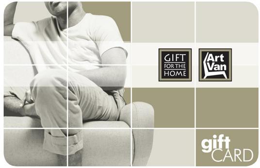 $50 Gift Card - Art Van Furniture