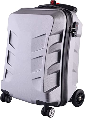 Scooter Luggage,21 Travel Scooter Luggage PC Suitcase Trolley Luggage Carry on Luggage Suitable