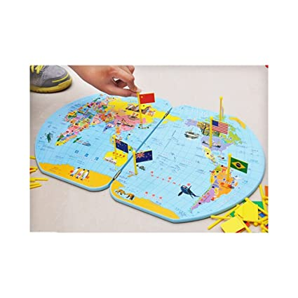 Buy montessori geography materials flag stand world map and 36 montessori geography materials flag stand world map and 36 flags gumiabroncs Gallery