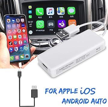 VIGORFLYRUN PARTS LTD USB Smart Car Link Dongle para Android Car Navigation para Apple iOS Module Auto Smart Phone USB Donlge Adapter: Amazon.es: Coche y moto
