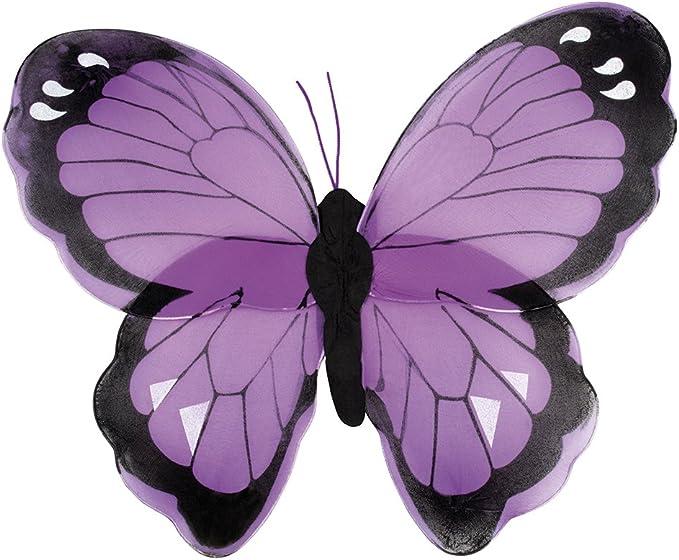 confettery – Hada Alas Mariposa Disfraz, color lila: Amazon.es ...