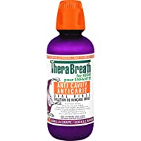 TheraBreath Kids Anti-Cavity Oral Rinse - Organic Gorilla Grape | Fluoride & Xylitol - Supports Healthy Teeth & Reduces…